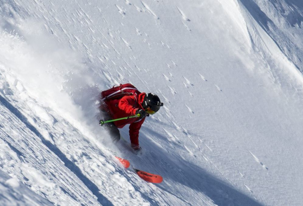 Good times together: Brothers join for an extreme ski